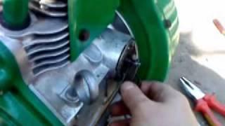 Bernard motor W110 1950.g. Repair part1 by dragec.flv