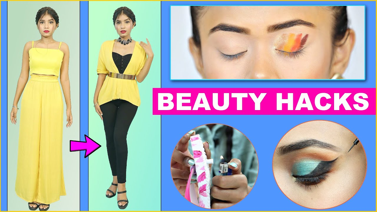 5 Life Savings Beauty & Fashion Hacks | Rich Girls vs Normal Girls | Anaysa