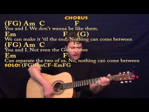 You and I (One Direction) Guitar Lesson Cover with Chords and Lyrics