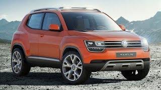 2014 Volkswagen Taigun Compact SUV Concept Review At Auto Expo 21014 смотреть