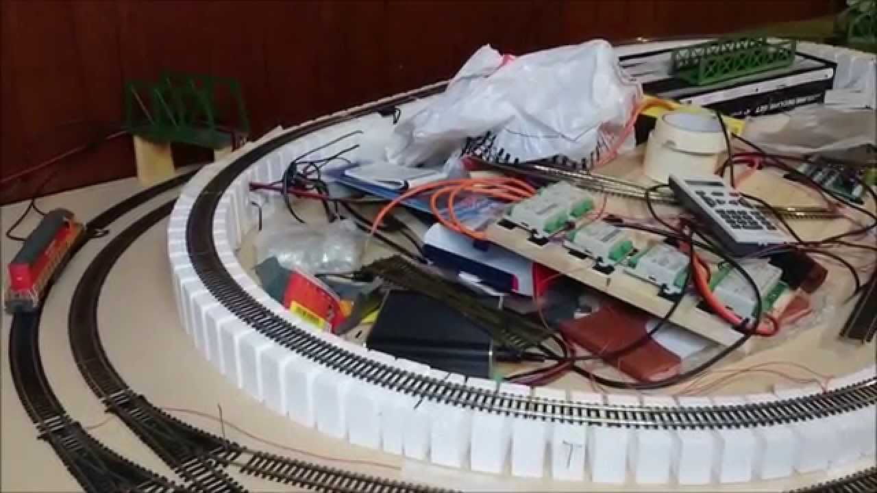how to build a model railway incline