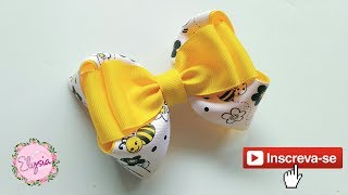 New Laço Boutique 2 Loop Ribbon Bow Tutorial DIY by Elysia Handmade...