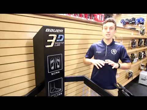 Bauer 3D Skate Lab At Discount Hockey Superstore