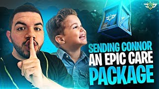 SENDING CONNOR AN EPIC CARE PACKAGE! (Fortnite: Battle Royale)