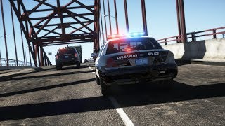 LSPDFR - Day 985 - Ramming the Road Block