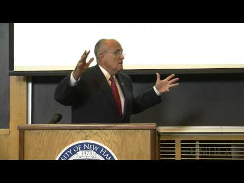 Rudy Giuliani on Leadership