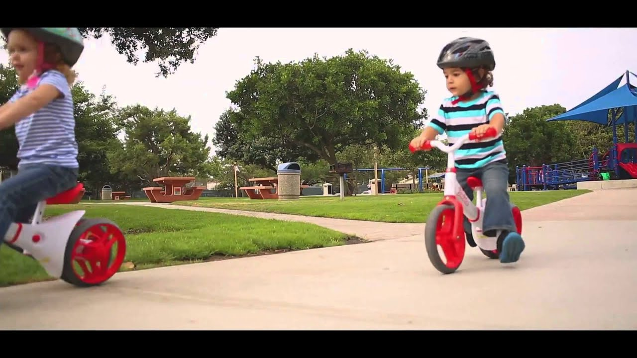 Teach your kid how to ride a bike and make it much easier with our special