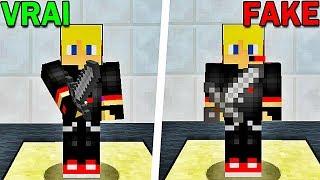 JE TROLL LES JOUEURS AVEC UNE FAUSSE ÉPÉE ! | Minecraft Murder