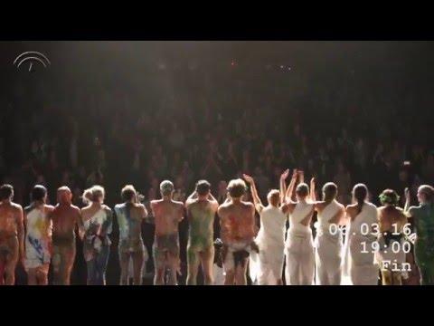 Mount Olympus. Behind the scenes / En coulisse / Tras la escena. Teatro Central