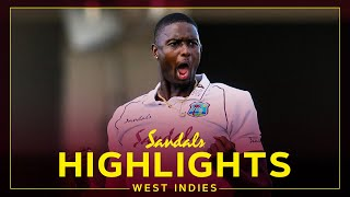 Highlights - West Indies vs Sri Lanka | Holder 5-fer Puts Hosts On Top! | Sandals 1st Test Day 1