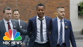 Cuba Gooding Jr. Arrives At Court Over Forcible Touching Charge | NBC News