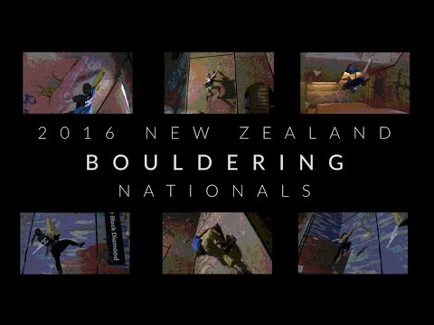 New Zealand Indoor Bouldering Championship finals - 2016