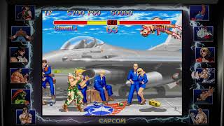 Super Street Fighter 2: The New Challengers 1993 - Chun Li vs Guile - No Commentary