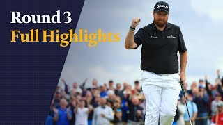 Golf: Samenvatting dag 3 van The Open