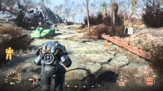 Fallout 4 - X-01 power armor Vault-tec paint