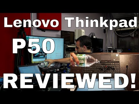 IS IT SPILL PROOF? Lenovo Thinkpad P50 review + waterboarding