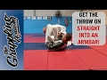 Start with a THROW or MOVE to an ARMBAR!