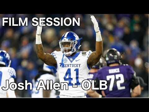 Josh Allen  #41 (Kentucky) Film Session (OLB) - 2019 NFL Draft