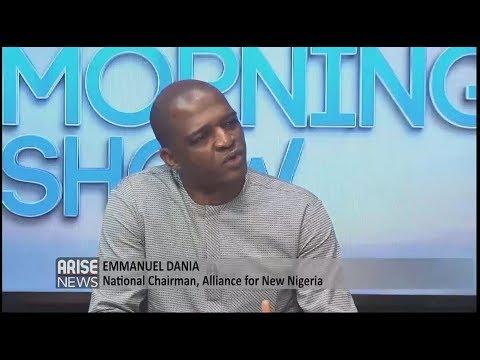 EMMANUEL DANIA speaks on the coalition between Fela Durotoye and Kingsley Moghalu