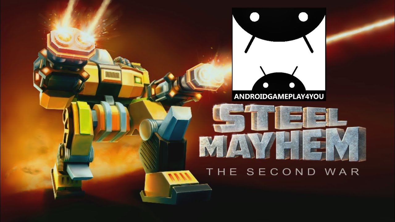steel mayhem: the second war android gameplay trailer (1080p) (by