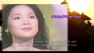 Download lagu 鄧麗君 Teresa Teng Mimpi Sedih - 悲哀的夢 Sad Dream  (Indonesian 印尼語)