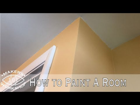 How To Paint A Room // Home Improvement