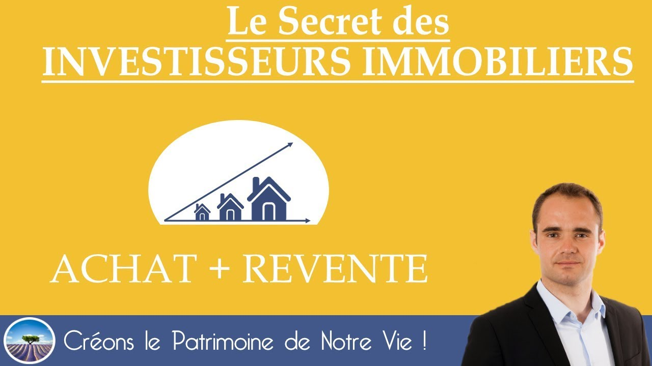 achat revente le secret des investisseurs immobiliers effetlevier youtube. Black Bedroom Furniture Sets. Home Design Ideas