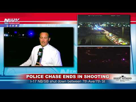 FREEWAY SHUTDOWN: Police situation closes I-17 in Phoenix, Arizona (FNN)