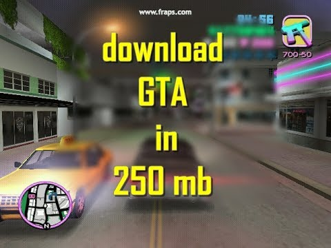 🔴 how to download gta vice city in pc for 250 mb