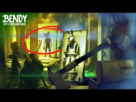 BOTH Bendy Chapter 3 Endings EXPLAINED! (Bendy & the Ink Machine Theories)