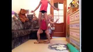 спортивная акробатика мини треня дома 2