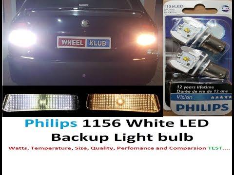Philips LED 1156 White Backup Light Bulb