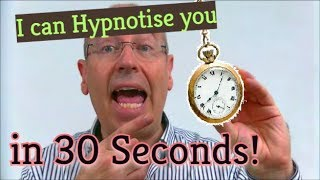 Can I Hypnotise You in 30 Seconds ?