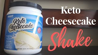 How I Use The Keto Cheesecake Shake By Giant Sports International