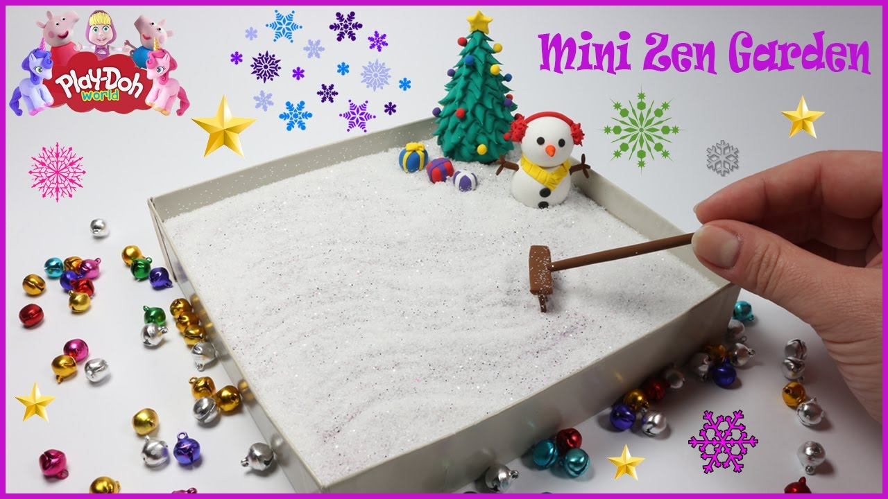 DIY How To Make A Miniature Zen Garden | 3D Modeling Creation For Christmas