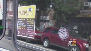 Rock Thrown Into Bus Window In Brooklyn