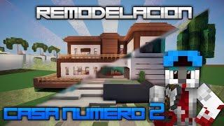 REMODELANDO LA CASA MAS FAMOSA DEL CANAL!! ||| MINECRAFT CASA MODERNA ||| w/ItsEdu