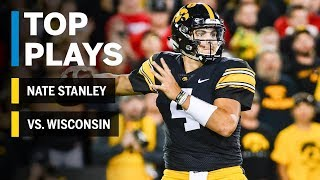 Top Plays: Nate Stanley vs. Wisconsin Badgers | Iowa | Big Ten Football
