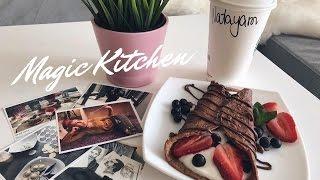 ♥ Волшебная кухня ♥ Шоколадно-рисовый блин с творожной начинкой ♥ ПП-Блин ♥