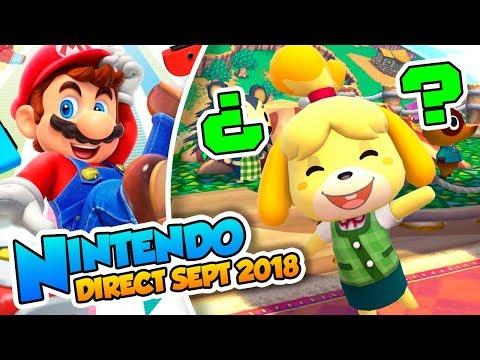 ¡Luigi's Mansion 3, Yoshi, y Animal Crossing! -  Nintendo Direct (Septiembre 2018) DSimphony