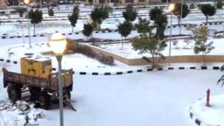В Египте и Турции выпал снег l 2013