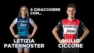 Quattro chiacchiere con Letizia Paternoster e Giulio Ciccone
