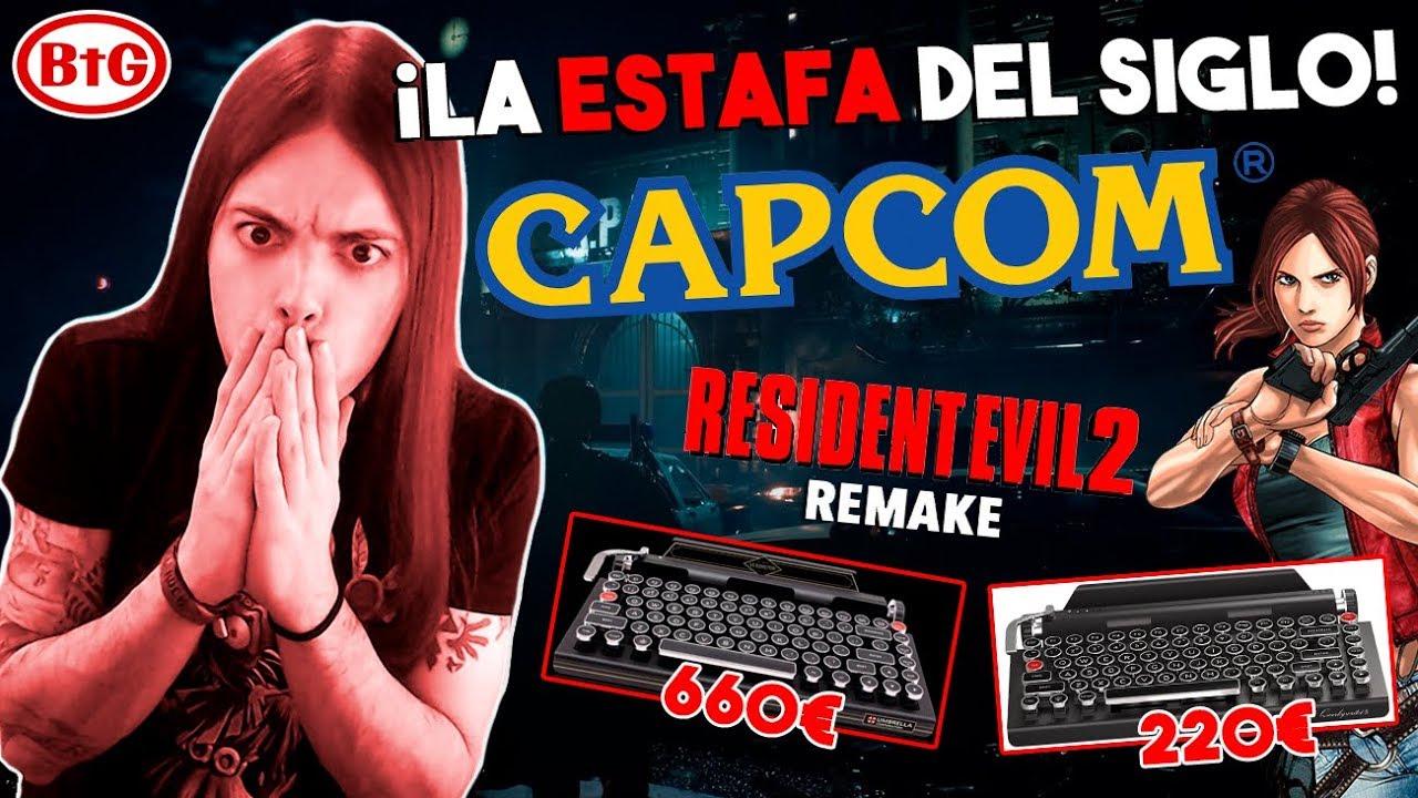 ¡ESTAFA y TIMO MONUMENTAL de CAPCOM con RESIDENT EVIL 2 REMAKE!