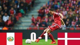 Peru Vs Denmark  (  1 - 0 ) FIFA World Cup 2018