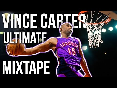 Vince Carter Ultimate Toronto Mixtape - some rare stuff from the NBA