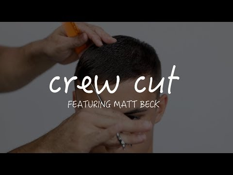 Men's Crew Cut Tutorial - MVRCK GIVEAWAY!!!