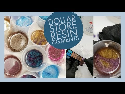 Dollar Store Resin Dyes - Cheap Pigments