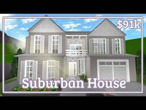 Bloxburg - Suburban House Speed-build