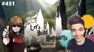 iBlali & darkviktory pushen mich!! | Let's Build Hogwarts #451