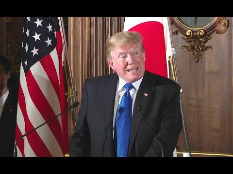 Trump  Press Conference with Japanese Prime Minister Abe - Full Event